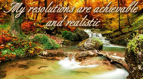 achieve resolutions